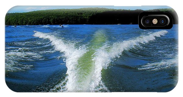 Boat Wake IPhone Case