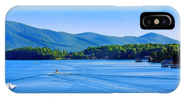 Boaters On Smith Mountain Lake IPhone Case