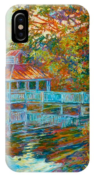 iPhone Case - Boathouse At Mountain Lake by Kendall Kessler