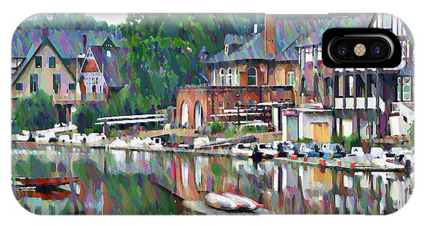 iPhone Case - Boathouse Row In Philadelphia by Bill Cannon