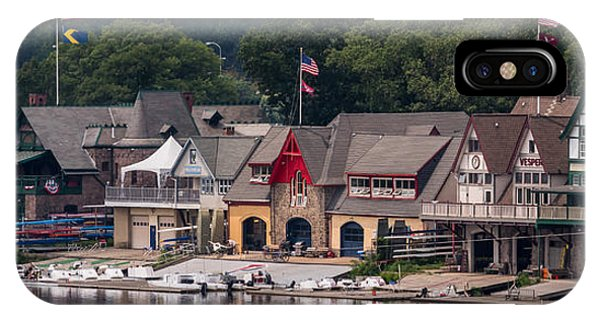 Boathouse Row Philadelphia Pa  IPhone Case