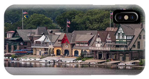 Boathouse Row Philadelphia Pa  IPhone Case