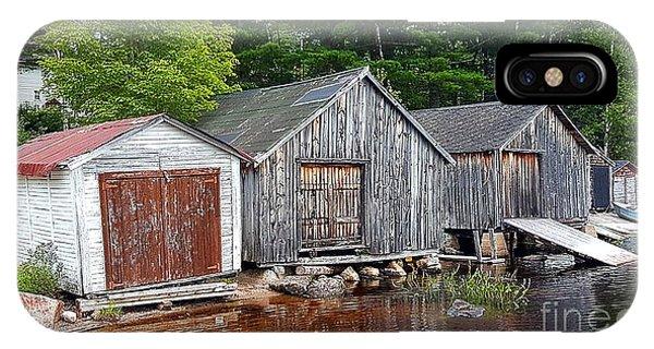 Boathouses - Mcadam Nb IPhone Case