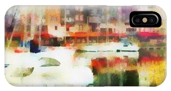 Impressionism iPhone Case - Boating In Honfleur by Susan Libby