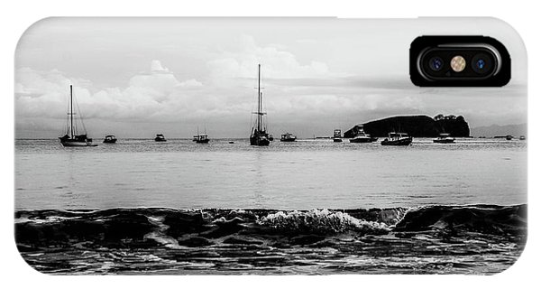 Boats And Waves 2 IPhone Case