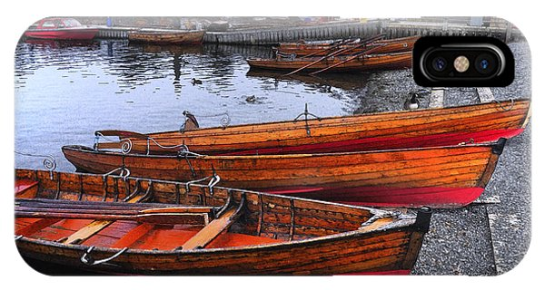 Boats At Windermere IPhone Case