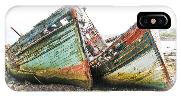 Boats Isle Of Mull 4 IPhone Case