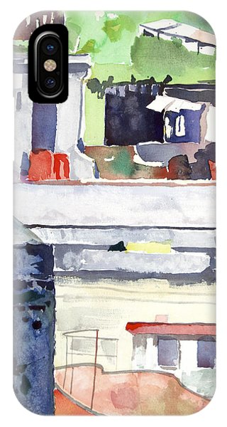 Boats On The Quay IPhone Case