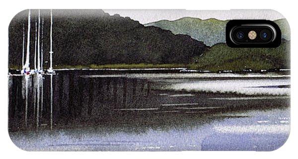 iPhone Case - Boats Tarbert Kintyre by Paul Dene Marlor