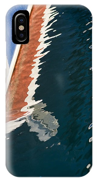 Boatside Reflection IPhone Case