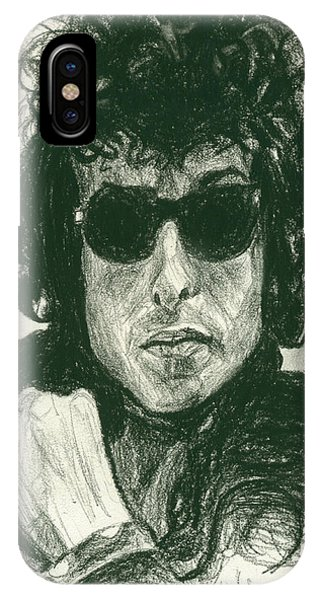 Bob Dylan 1 IPhone Case