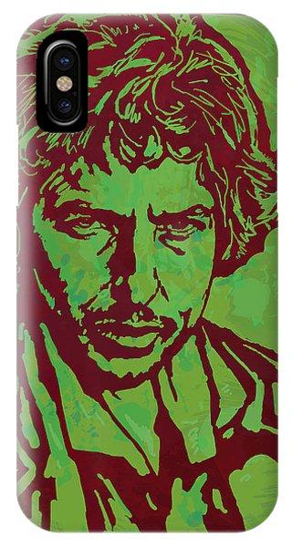 Bob Dylan Pop Art Poser IPhone Case