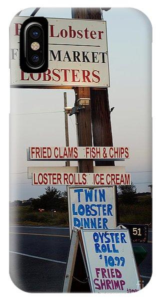 Bob Lobster Fish Market IPhone Case