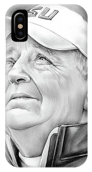 Bobby Bowden IPhone Case