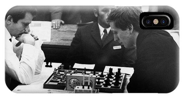 Bobby Fischer (1943-2008) IPhone Case