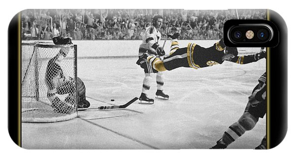 Bobby Orr 6 IPhone Case