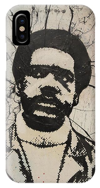 Fred Hampton iPhone X Case - Bobby Seale - Black Panther by Dustin Spagnola