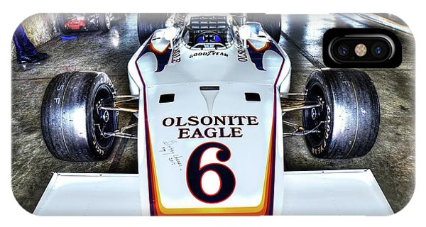 Bobby Unser's 1972 Indianapolis 500 Car. IPhone Case