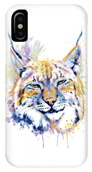 Bobcats iPhone Case - Bobcat Head by Marian Voicu