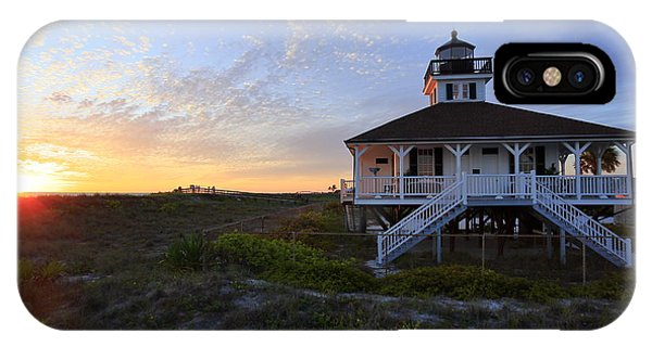 Boca Grande Lighthouse, Gasparilla Island, Florida, U S A IPhone Case