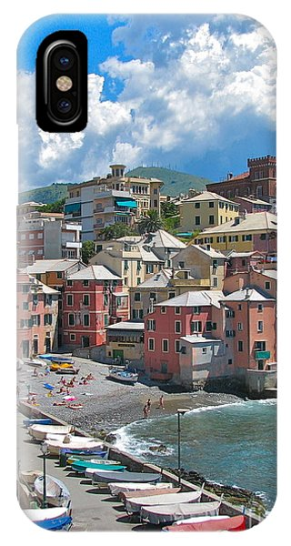 Boccadasse 2-genova, Italy IPhone Case