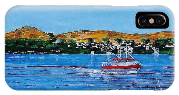 Bodega Bay From Campbell Cove IPhone Case