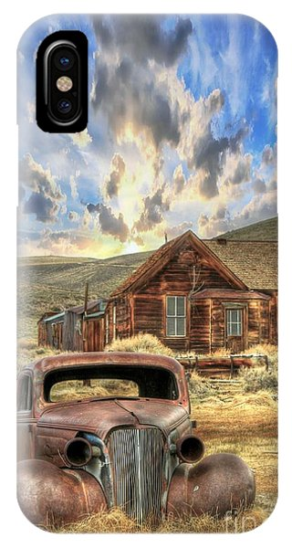 Bodie Ghost Town iPhone Case - Bodie Ghost Town by Benanne Stiens