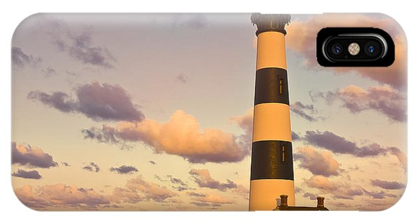 IPhone Case featuring the photograph Bodie Island Lighthouse by Ken Barrett