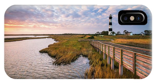 Bodie Island Lighthouse Outer Banks North Carolina Obx Nc IPhone Case