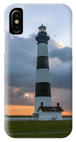 Bodie Island Lighthouse Sunset IPhone Case