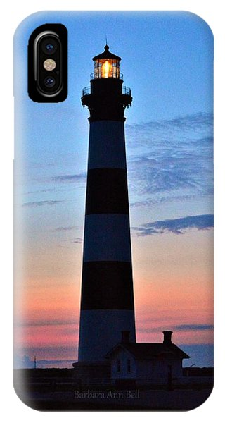 Bodie Lighthouse 7/18/16 IPhone Case