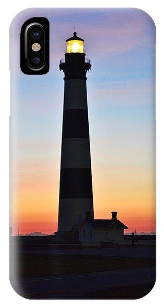 Bodie Lighthouse At Sunrise IPhone Case