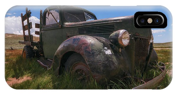 IPhone Case featuring the photograph Bodie Truck by Sharon Seaward