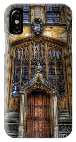 Bodleian Library Door - Oxford IPhone Case