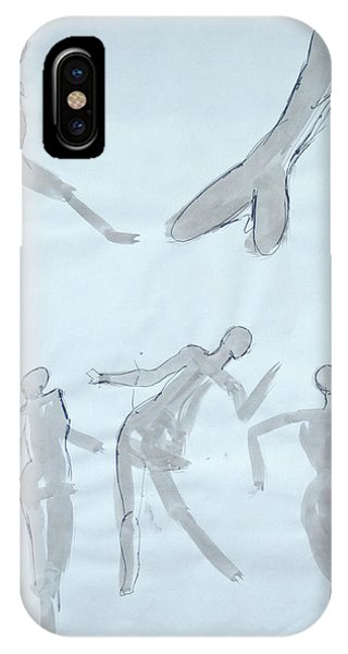Body Sketches IPhone Case