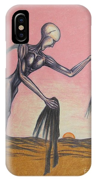 iPhone Case - Body Soul And Spirit by Michael  TMAD Finney