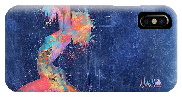 Dance iPhone Case - Bodyscape In D Minor - Music Of The Body by Nikki Marie Smith