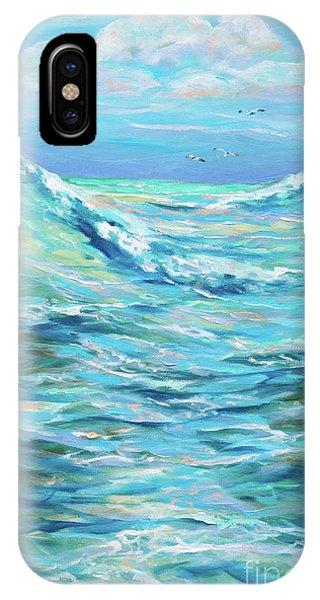 Bodysurfing Afternoon Phone Case by Linda Olsen