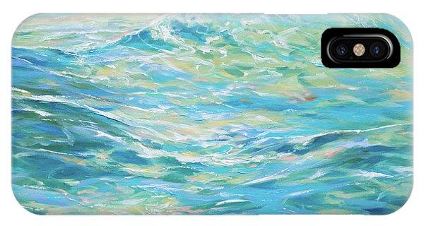 Bodysurfing Rolling Wave IPhone Case