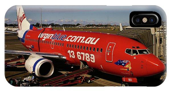 Boeing 737-7q8 IPhone Case