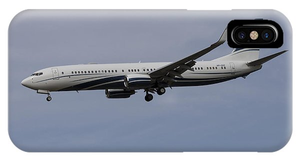 Boeing 737 Private Jet IPhone Case