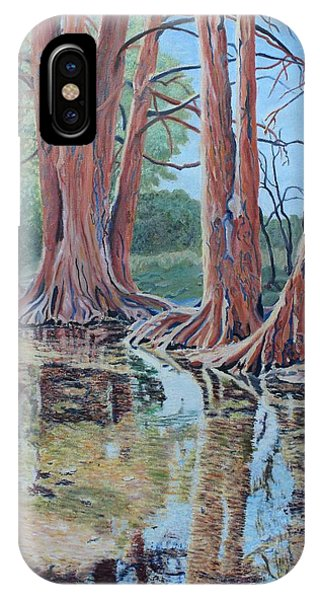Boerne River Scene IPhone Case