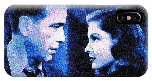 Bogart And Bacall - The Big Sleep IPhone Case