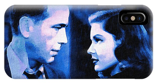 Bogart And Bacall - The Big Sleep IPhone Case