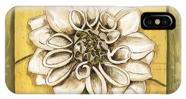 Bloom iPhone Case - Bohemian Dahlia 1 by Debbie DeWitt