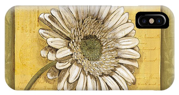 Bloom iPhone Case - Bohemian Daisy 1 by Debbie DeWitt
