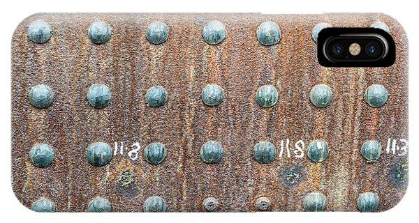 Boiler Rivets IPhone Case