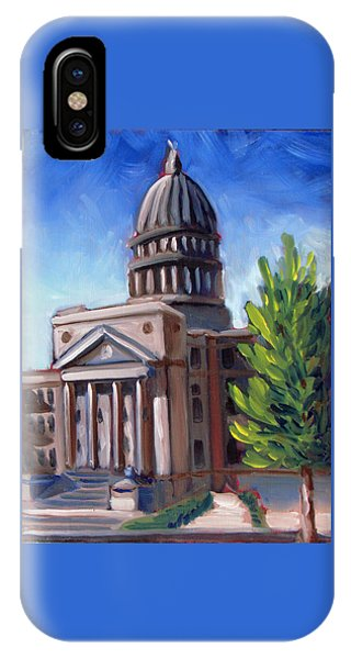 Boise Capitol Building 01 IPhone Case