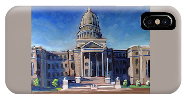 Boise Capitol Building 02 IPhone Case