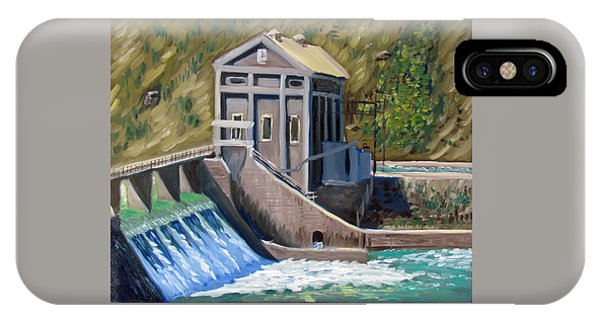Boise Diversion Dam IPhone Case